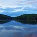 6-6-2012 canopus lake at dusk reflections final paint2 SEPIA FILTER WATERMARK