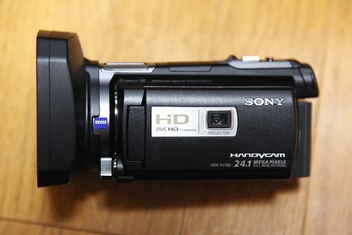 HDR-PJ760Vレビュー
