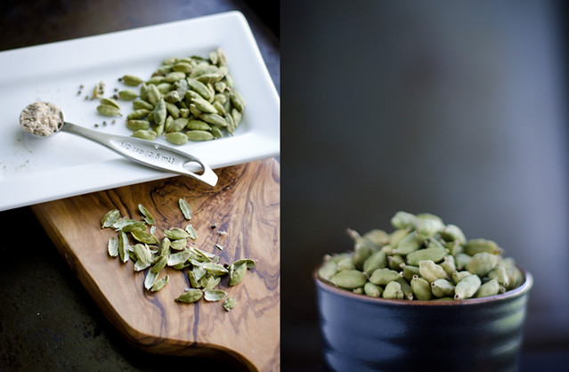 Cardamom, Ground and in Pods by Mary Banducci