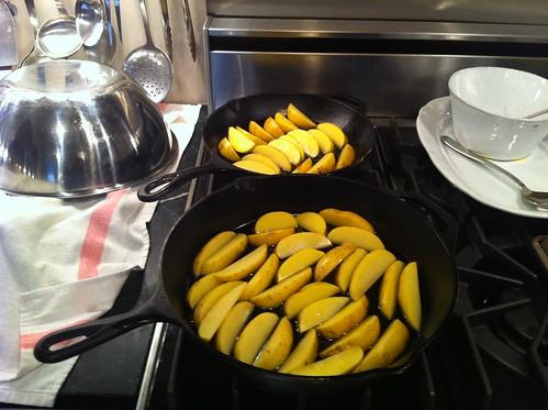 Mohagany potatoes