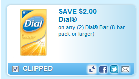 Dial Bar (8-bar Pack Or Larger)  Coupon