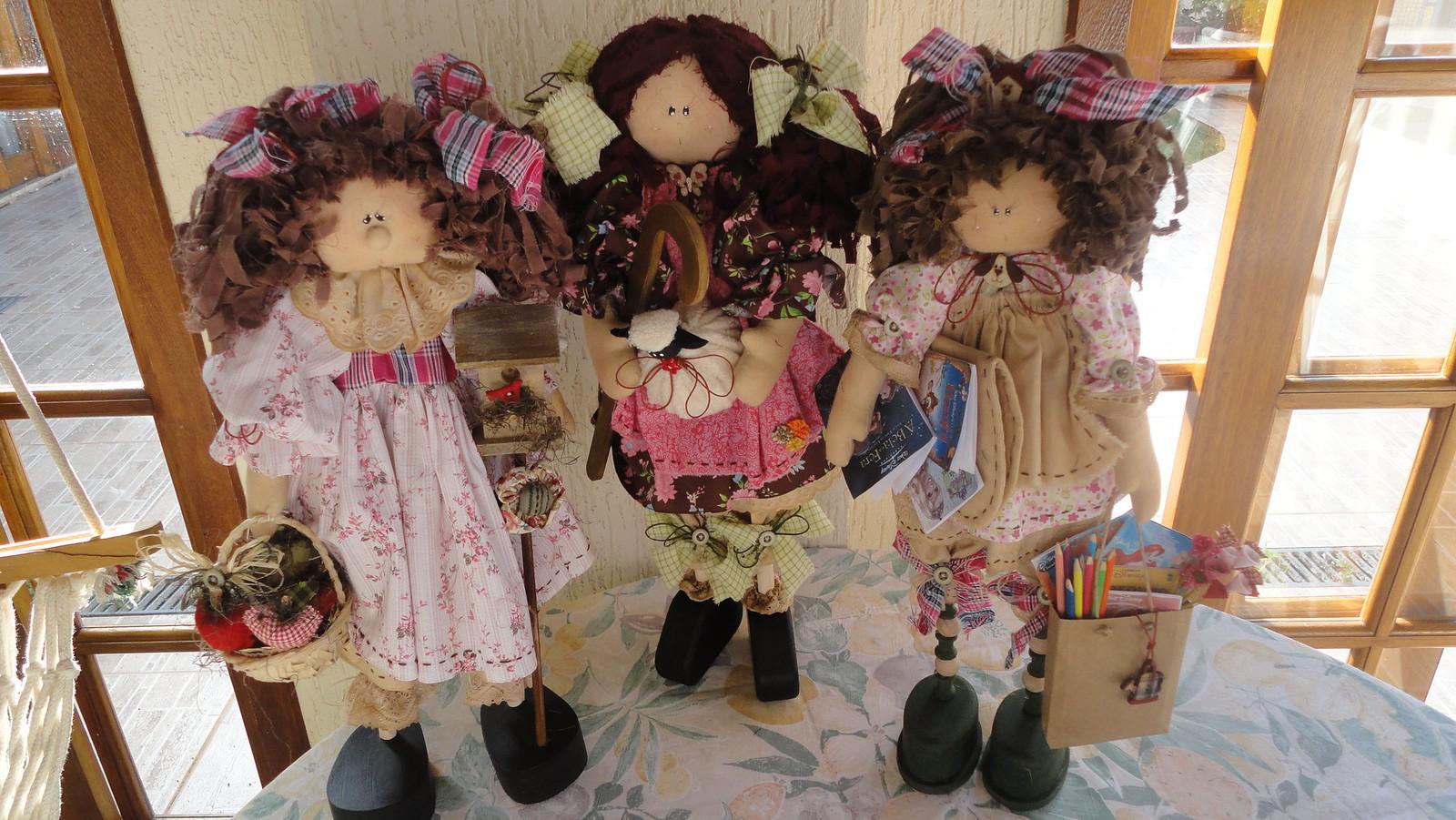 Куклы из ниток  мастер класс по изготовлению