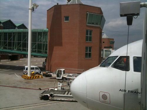Air France A320 at VCE