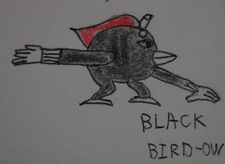 black bird-ow