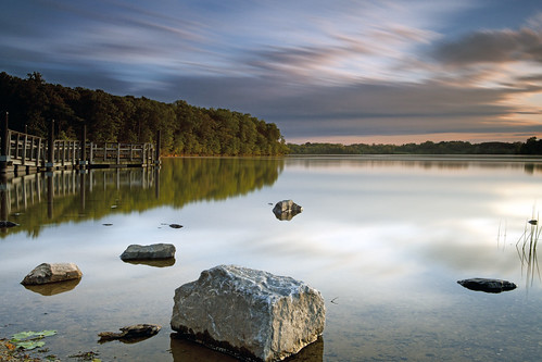 longexposure light sunset lake reflection germantown water clouds canon movement day cloudy dusk maryland wideangle filters cloudscape waterscape boyds blackhillregionalpark 181seconds ef2470f28lusm hoyand400 bwcpl 5dmkii singhrayrgnd