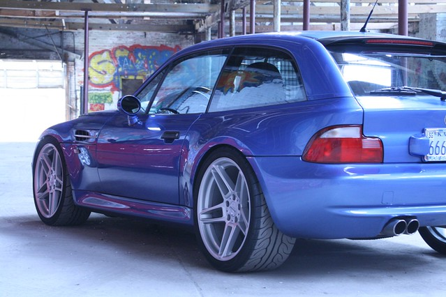 2001 M Coupe | Estoril Blue | Estoril/Black