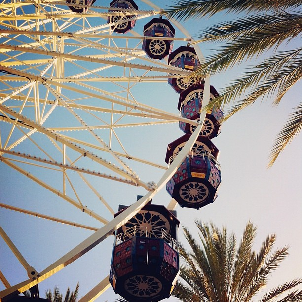 Standing under the Big Wheel @irvinespectrum earlier today.
