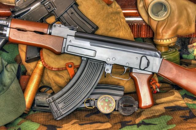 AK 47 HDR