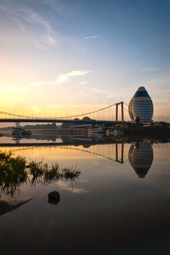 reflection river sudan khartoum qusai akoud burjelfateh
