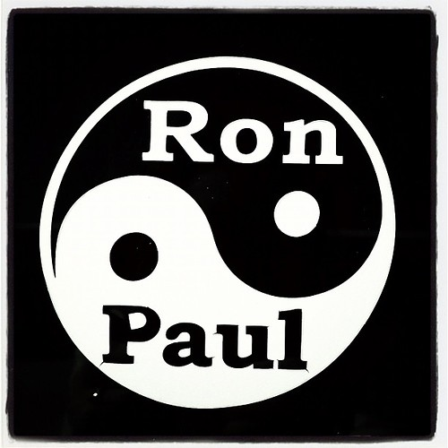 Ron Paul, y'all. #r3volution #2012