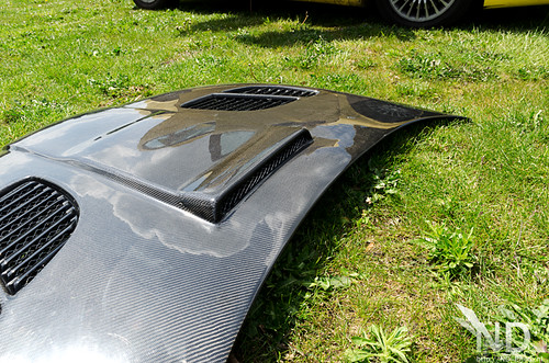 Carbon bonnet features