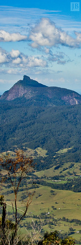 blue trees light mountain mountains yellow clouds contrast photoshop warning bush rainforest mt view forrest australia joe panoramic lookout ranges 7d outlook lightroom brosnan joebrosnan