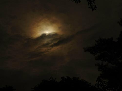 PENTAX Qにて撮影の日食