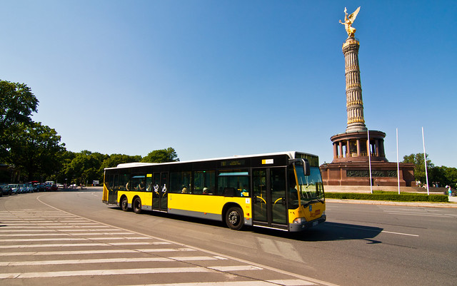 berlin bus siegess ule flickr photo sharing. Black Bedroom Furniture Sets. Home Design Ideas