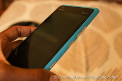 Nokia Lumia 900 Side Shot