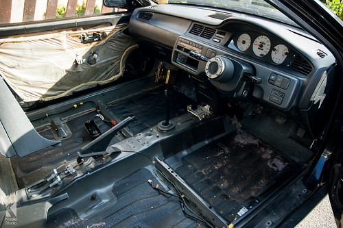 Honda Civic Interior Stripped