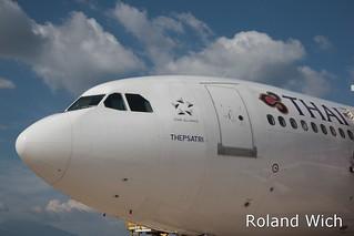 Thai A300 at Krabi Airport