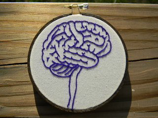 Anatomy of the Brain Embroidery