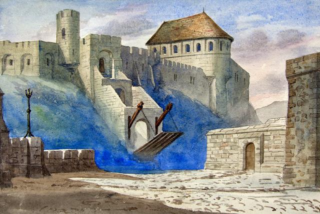 Hamlet Castle Drawing Hamlet's Castle | by