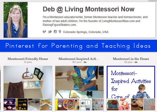Pinterest - Deb @ Living Montessori Now