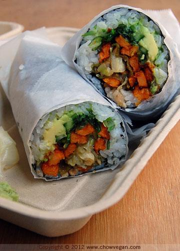 We Sushi Veggie Burrito