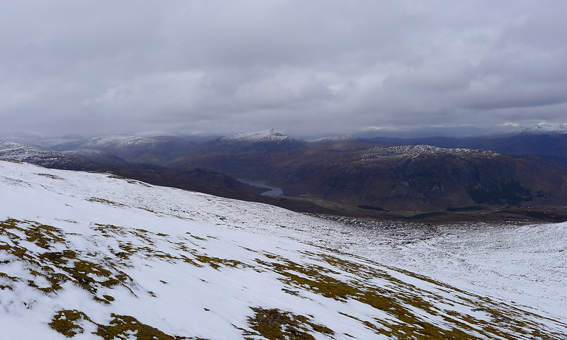 West over Glen Orrin