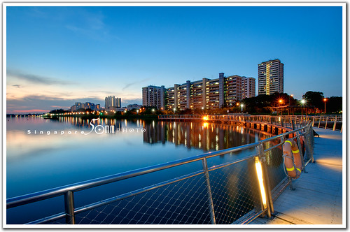singapore pandan reservoir - floating path