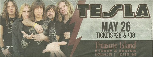 05-26-12 Tesla @ Treasure Island Casino, Welch, MN