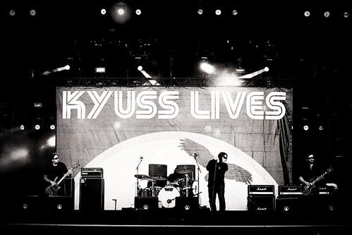 Pinkpop 2012 mashup foto - Kyuss Lives op Pinkpop