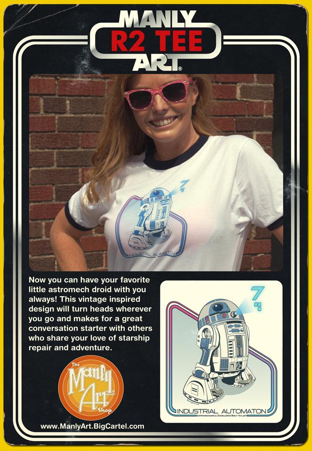 R2 Tee Flyer