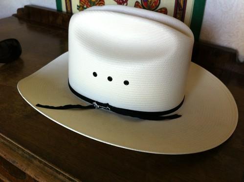 Stetson Rancher straw hat