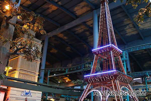 Mini Big Ben and Eiffel Tower