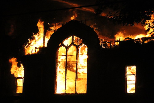 Walker Church Burning