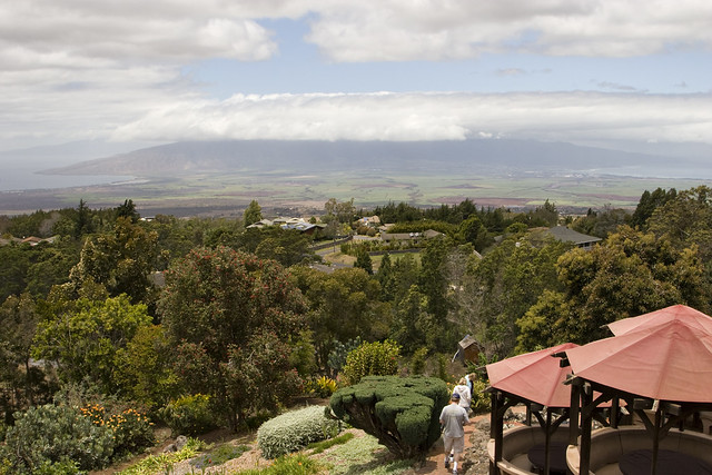 View from the Kula Lodge