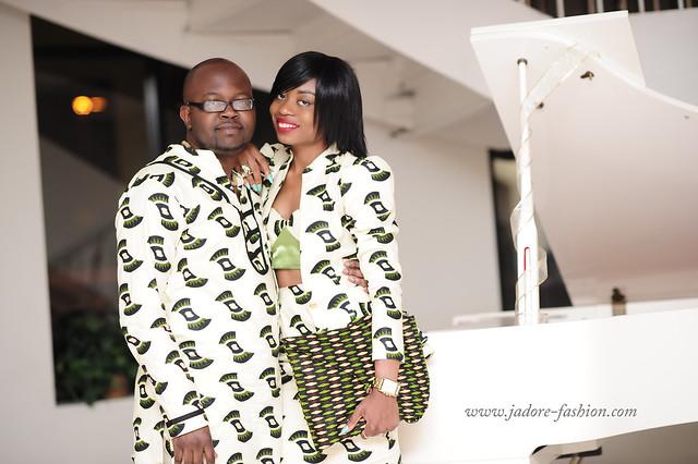 African print Olu & I