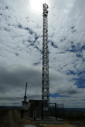 Torre WiMAX en Mandín (Verín)(Proxecto ARRAIANO)