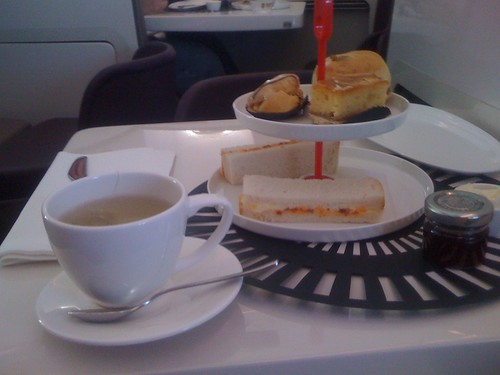 Upper Class on Virgin Atlantic by Susie Bearne