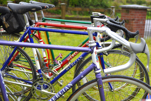 Chris Sharp's Mercian Collection