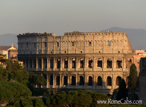 The Colosseum (Rome) on Seven Wonders of Ancient Rome with RomeCabs