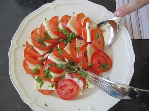 Tomates mozza