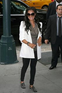 La La Studded Loafers Celebrity Style Women's Fashion