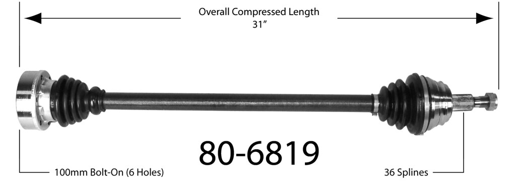 vwvortex com - mk3   axle lengths