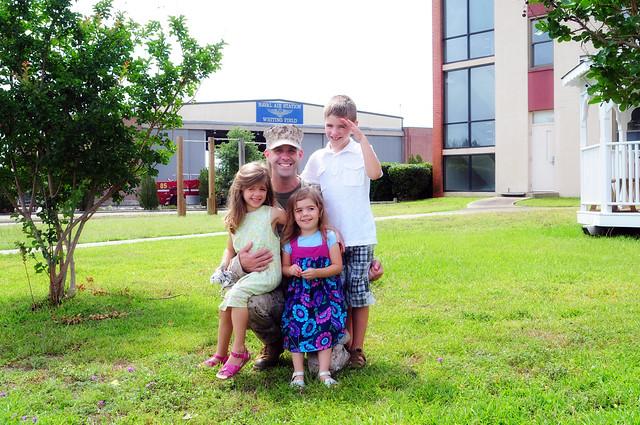 Dad & his crew