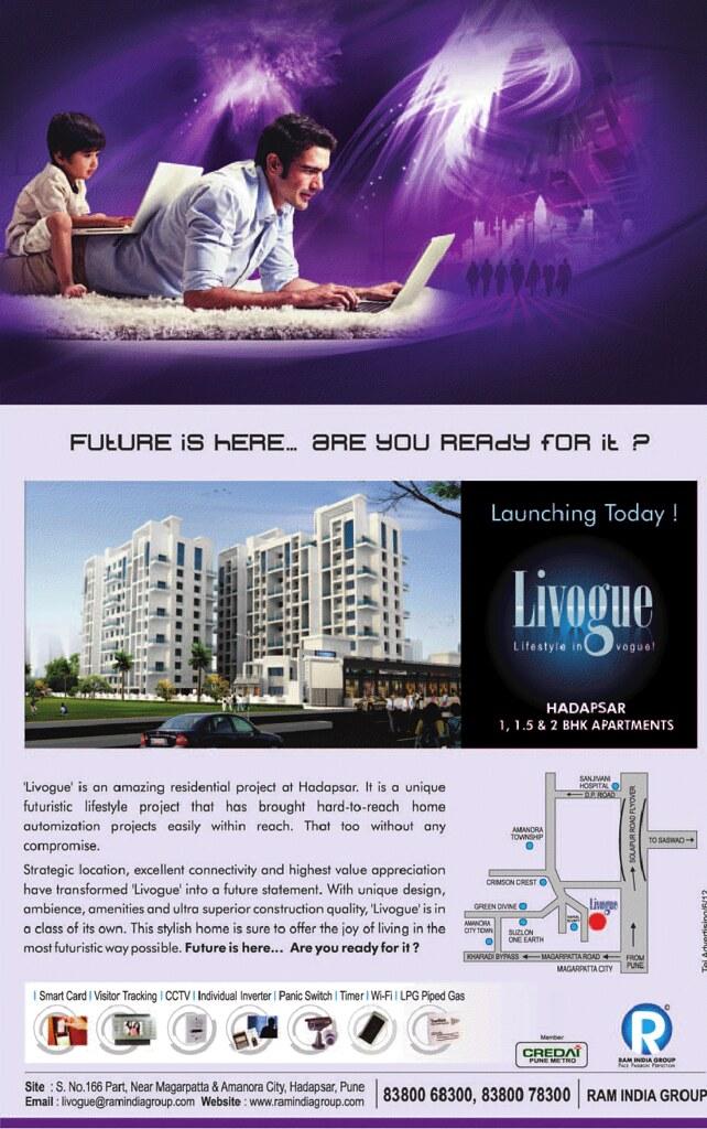 Livogue 1 BHK 1.5 BHK 2 BHK Flats near Magarpatta Amanora Hadapsar Pune 411028