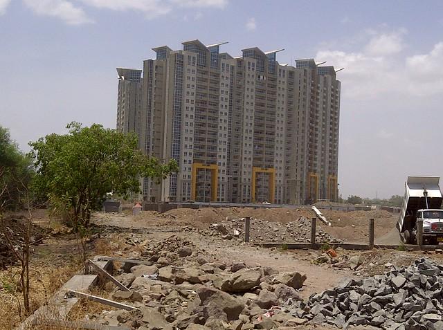 Amanora Aspire Towers from Keshav Nagar - Malwadi Hadapsar  - Visit Livogue - 1 BHK, 1.5 BHK & 2 BHK Flats at Malwadi Hadapsar, Pune 411028