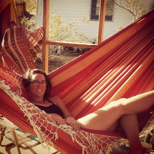 reanna in hammock