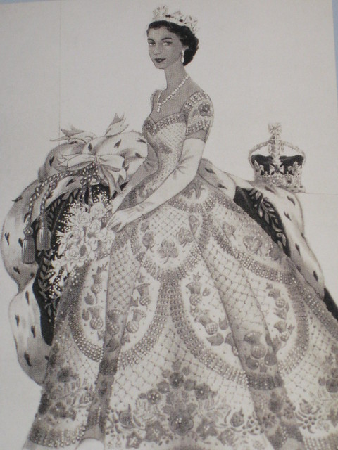 Who Designed The Gown For The Queen S Coronation