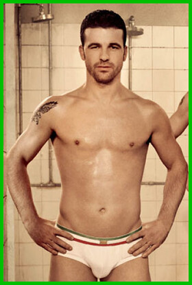Antonio di Natale shirtless