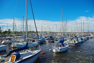 D06498.  Yachts at Lymington.