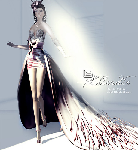 Ellendir Khandr - Formal Gown Miss Costa Rica 2012 - Top 10 Finalist Miss Mundo Virtual 2012 - by Ellendir Khandr MMV 2012 Miss Costa Rica